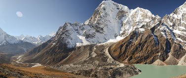 Paisagem de Himalayas de Nepal Fotos de Stock Royalty Free