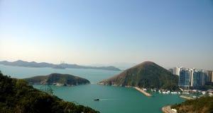 Paisagem de Hong Kong imagem de stock