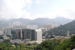 Paisagem de Hong Kong Fotografia de Stock Royalty Free