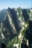 Paisagem de Huashan da montanha imagens de stock