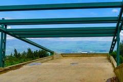 Paisagem de Hussein Viewpoint e do vale de Hula fotografia de stock