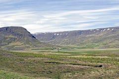 Paisagem de Islândia Fotos de Stock Royalty Free