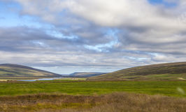 Paisagem de Islândia Imagens de Stock