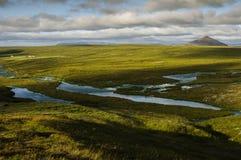 Paisagem de Islândia Imagem de Stock Royalty Free