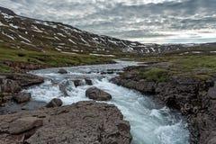 Paisagem de Islândia Foto de Stock Royalty Free
