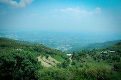 Paisagem de Islamabad Foto de Stock Royalty Free