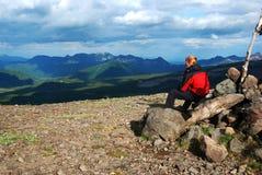 Paisagem de Kamchatka Imagens de Stock
