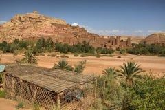 Paisagem de Ksar Ait Ben Haddou Foto de Stock Royalty Free