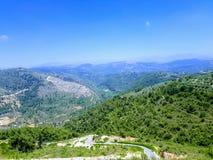 Paisagem de Líbano imagens de stock