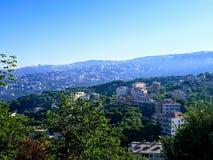 Paisagem de Líbano Fotografia de Stock Royalty Free