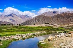 Paisagem de Ladakh, Índia Fotografia de Stock Royalty Free
