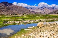 Paisagem de Ladakh, Índia Fotos de Stock Royalty Free