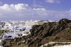 Paisagem de Lanzarote Foto de Stock Royalty Free
