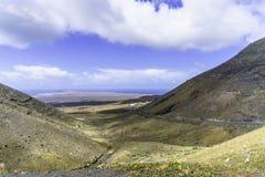 Paisagem de Lanzarote Fotos de Stock Royalty Free