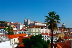 Paisagem de Lisboa. Portugal Foto de Stock Royalty Free