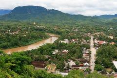 Paisagem de Luang Prabang Fotografia de Stock Royalty Free