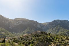 Paisagem de Mallorca fotografia de stock