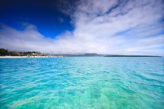 Paisagem de Maurícia fotografia de stock