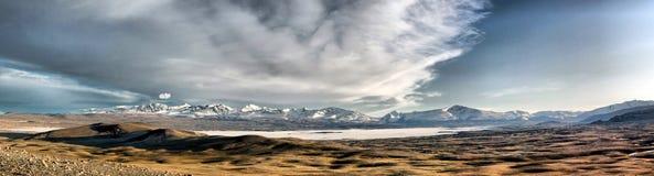 Paisagem de Mongolia Fotos de Stock Royalty Free