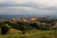 Paisagem de Morrovalle Foto de Stock