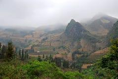 Paisagem de Moutain em Vietnam Fotografia de Stock Royalty Free