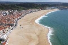 Paisagem de Nazare, Portugal Foto de Stock