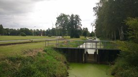 Paisagem de Neuengamme Fotografia de Stock