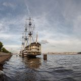 Paisagem de Nevsky, St Petersburg Foto de Stock Royalty Free
