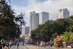 Paisagem de Nova Orleães imagem de stock