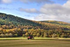 Paisagem de outubro das montanhas escocesas centrais fotografia de stock royalty free