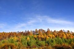 Paisagem de outubro das montanhas escocesas centrais imagens de stock royalty free