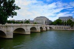Paisagem de Paris fotografia de stock