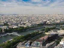 Paisagem de Paris Imagens de Stock