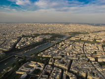 Paisagem de Paris Foto de Stock