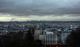 """Paisagem de Paris - arquitetura da cidade ur de Sacré-CÅ """" fotografia de stock"""