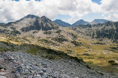 Paisagem de Pirin da montanha Foto de Stock