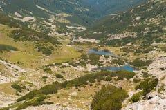 Paisagem de Pirin da montanha Fotos de Stock Royalty Free
