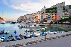 Paisagem de Porto Venere Imagem de Stock Royalty Free
