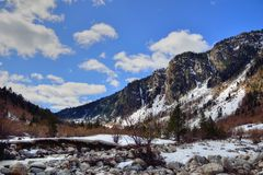Paisagem de Pyrenees imagem de stock royalty free