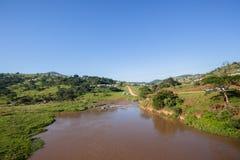 Paisagem de River Valley Fotografia de Stock
