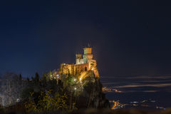 Paisagem de São Marino fotografia de stock royalty free