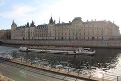 Paisagem de Seine do rio Fotografia de Stock