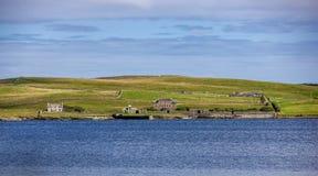 Paisagem de Shetland Fotos de Stock Royalty Free
