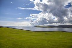 Paisagem de Shetland Imagens de Stock