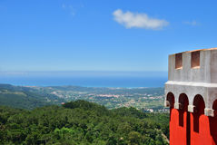 Paisagem de Sintra, Portugal Foto de Stock Royalty Free