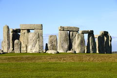 Paisagem de Stonehenge Fotografia de Stock