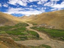 Paisagem de Tibet Imagem de Stock Royalty Free