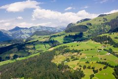 Paisagem de Tirol imagem de stock royalty free