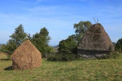 Paisagem de Transylvanian Fotos de Stock Royalty Free