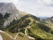 Paisagem de um platô Dachstein da montanha, Áustria Fotos de Stock Royalty Free